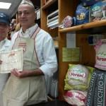 Consegna premio al punto vendita Coafi di Taranto da parte dell'agente Veroni Pierluigi Donatelli