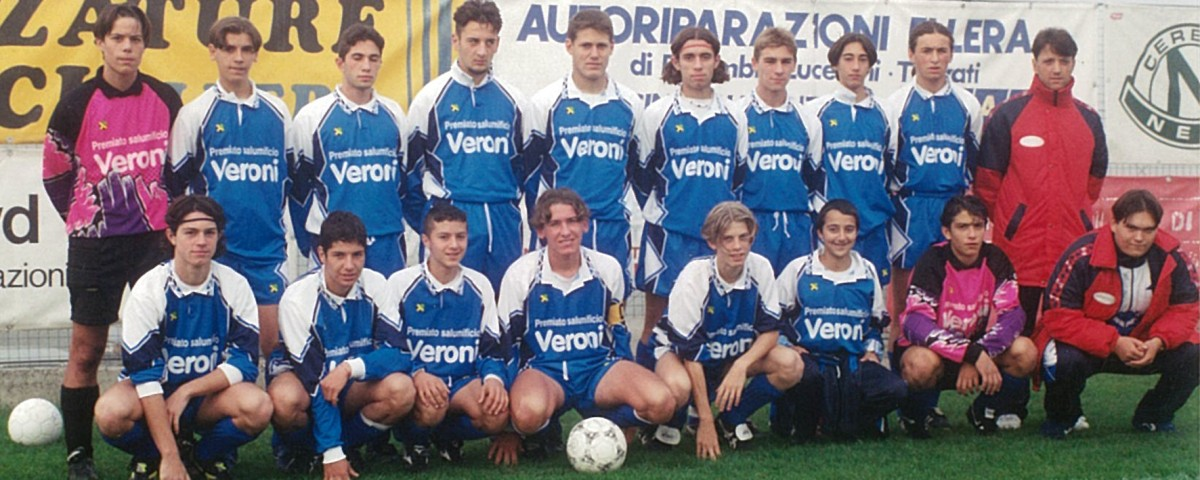 Sponsor Squadra Giovanile Umbria (ottobre 1996)