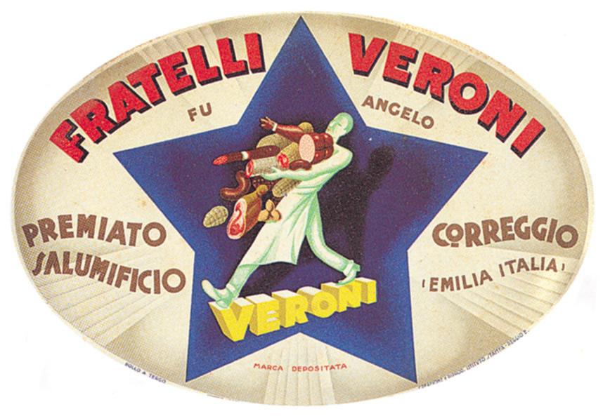 Il marchio Veroni nel 1935
