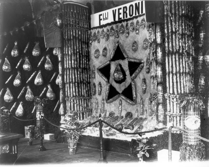Esposizione del 1935 di salumi Veroni.