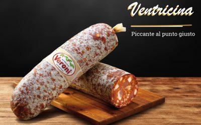 Il salame piccante Ventricina